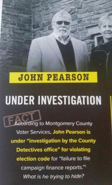 pearson under investigation