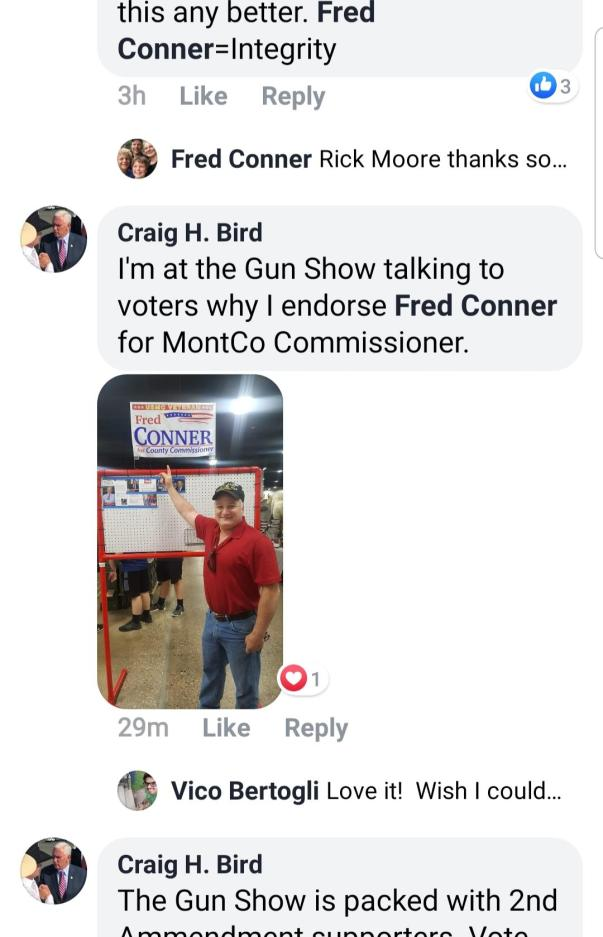 Bird Gun Show MCRC Booth