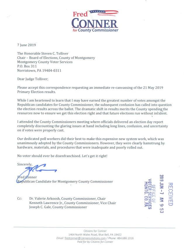 Conner Letter